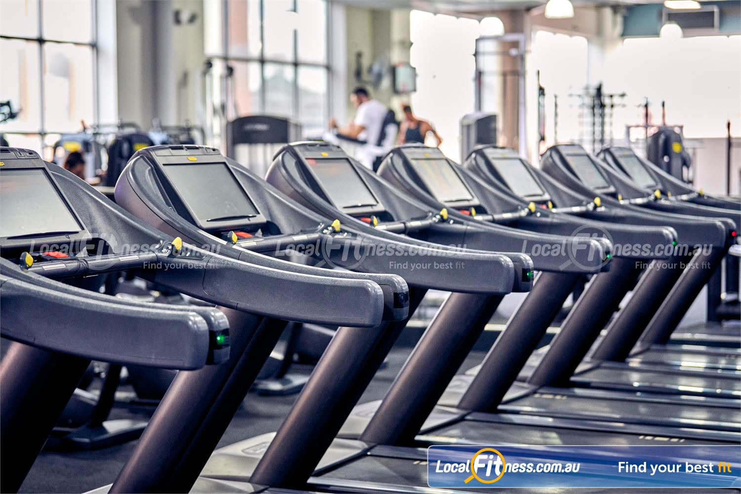Fitness First Platinum Near Toorak Rows of state of the art cardio so you don't have to wait.