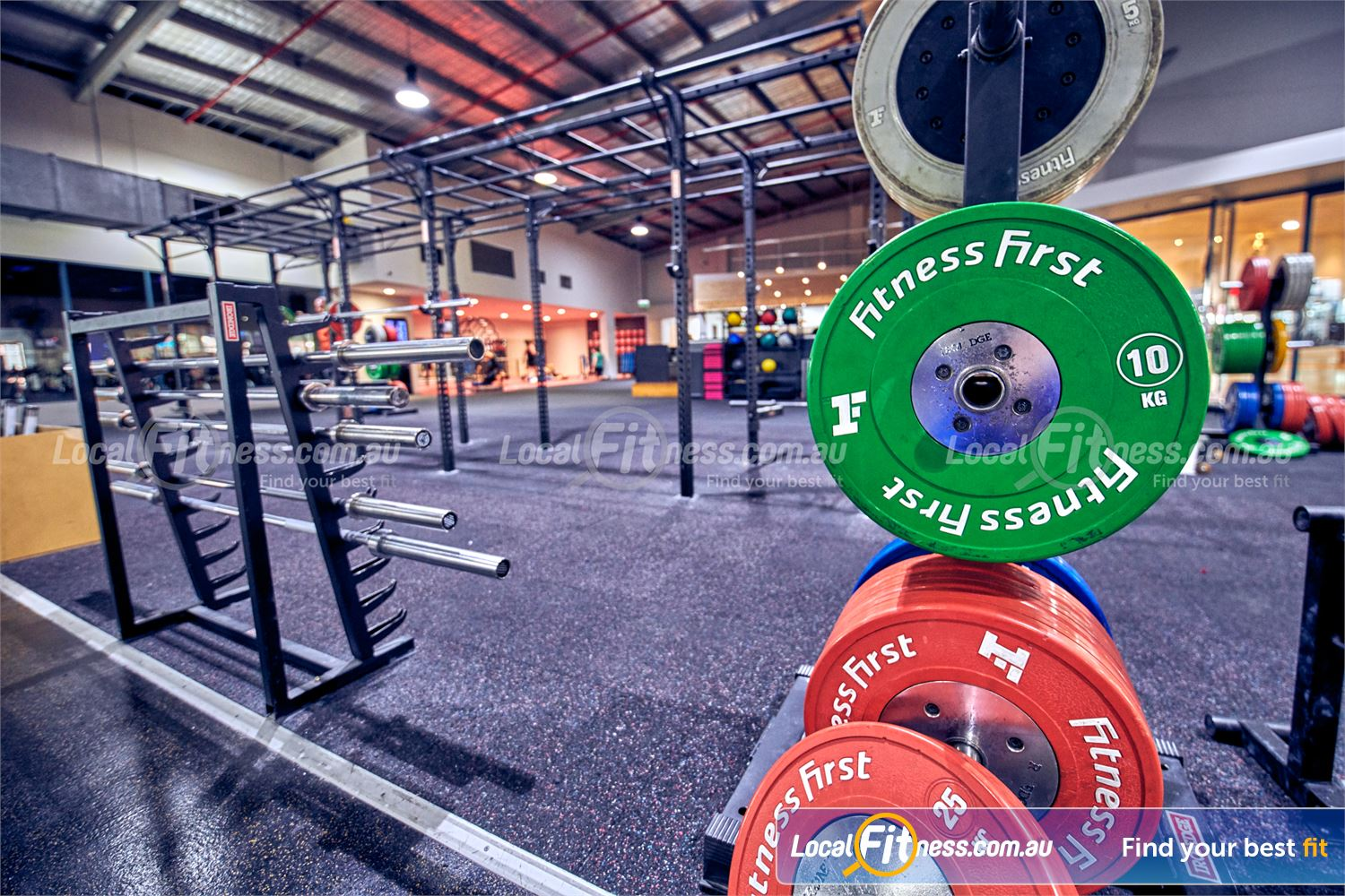 Fitness First Platinum Near Richmond North The strength matrix is perfect for squats and deadlifts.