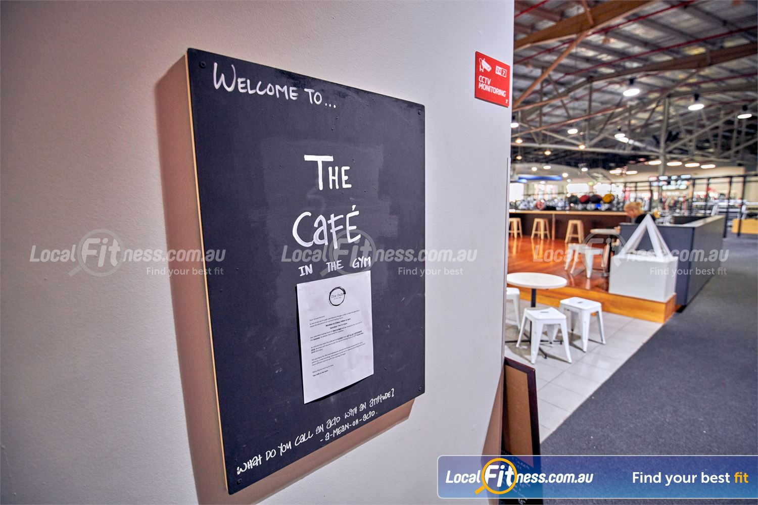 Fitness First Platinum Near Toorak On-site Cafe The Cafe at Richmond Fitness First.