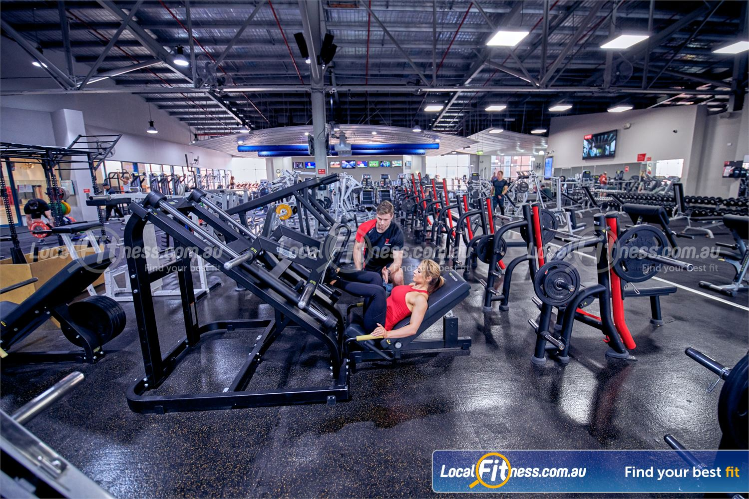 Fitness First Platinum Near South Yarra Our Richmond gym includes multiple heavy duty leg presses.
