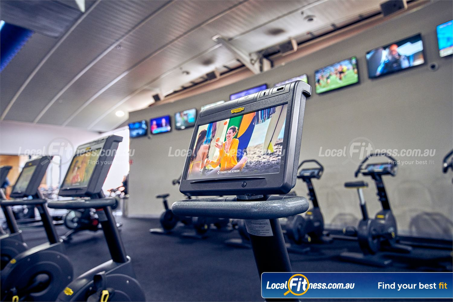 Fitness First Platinum Richmond Watch your favourite shows on your personal entertainment console.