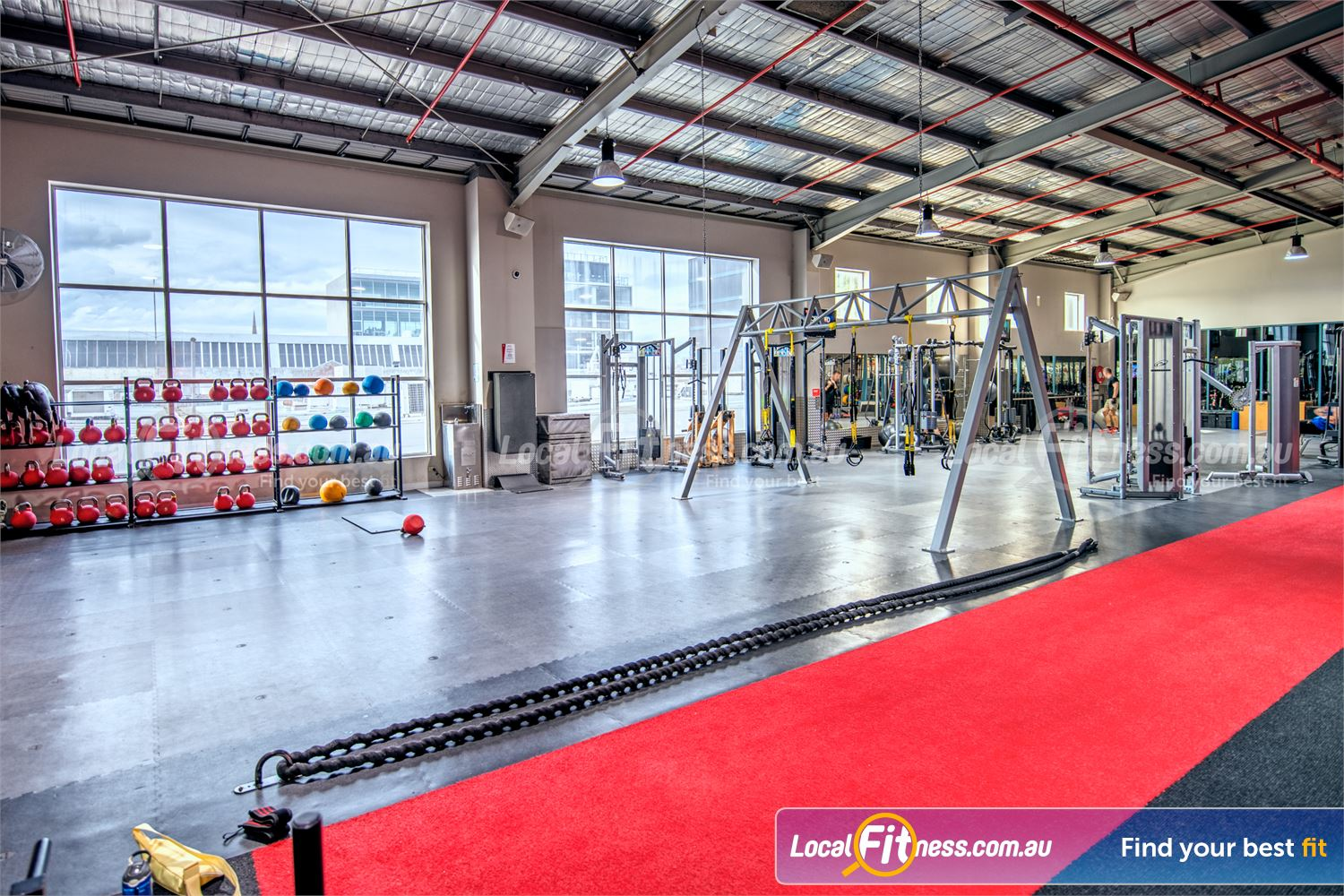 Fitness First Platinum Near South Yarra Our Richmond HIIT gym is fully equipped for functional workouts.
