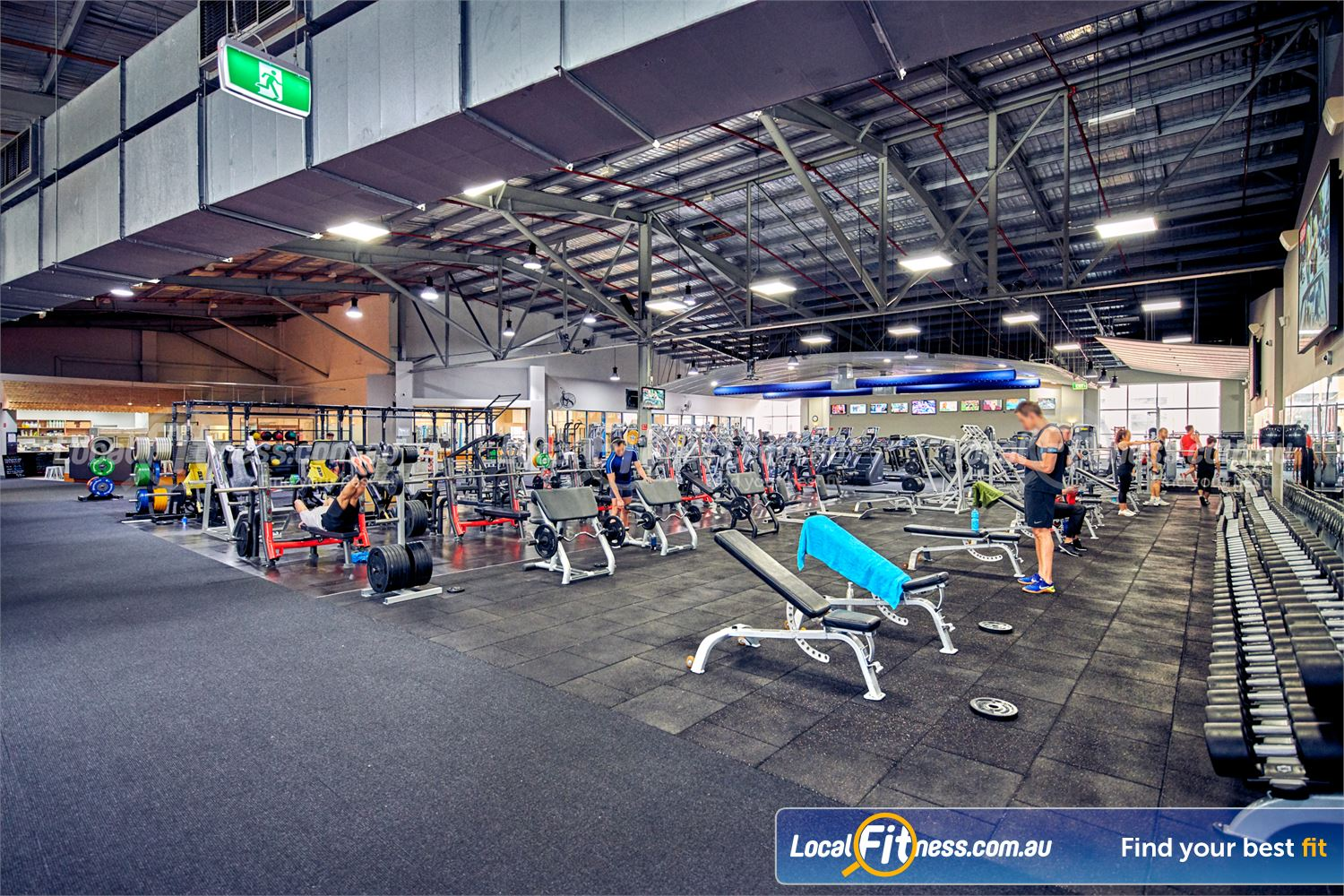 Fitness First Platinum Near Toorak Our extensive Richmond gym is fully equipped for all your free-weights needs.