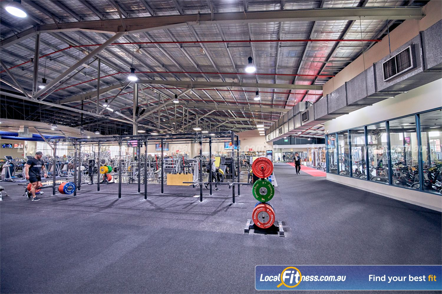 Fitness First Platinum Near South Yarra Experience our open-plan spacious Richmond gym.