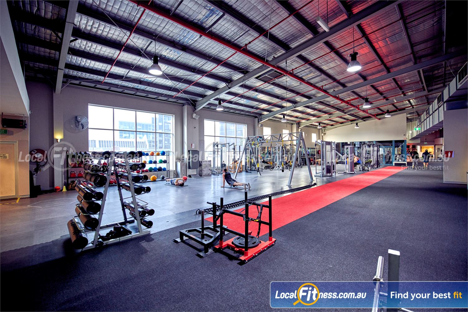 Fitness First Platinum Near Toorak Utilise the latest HIIT and functional training methods in our functional area overlooking Richmond.