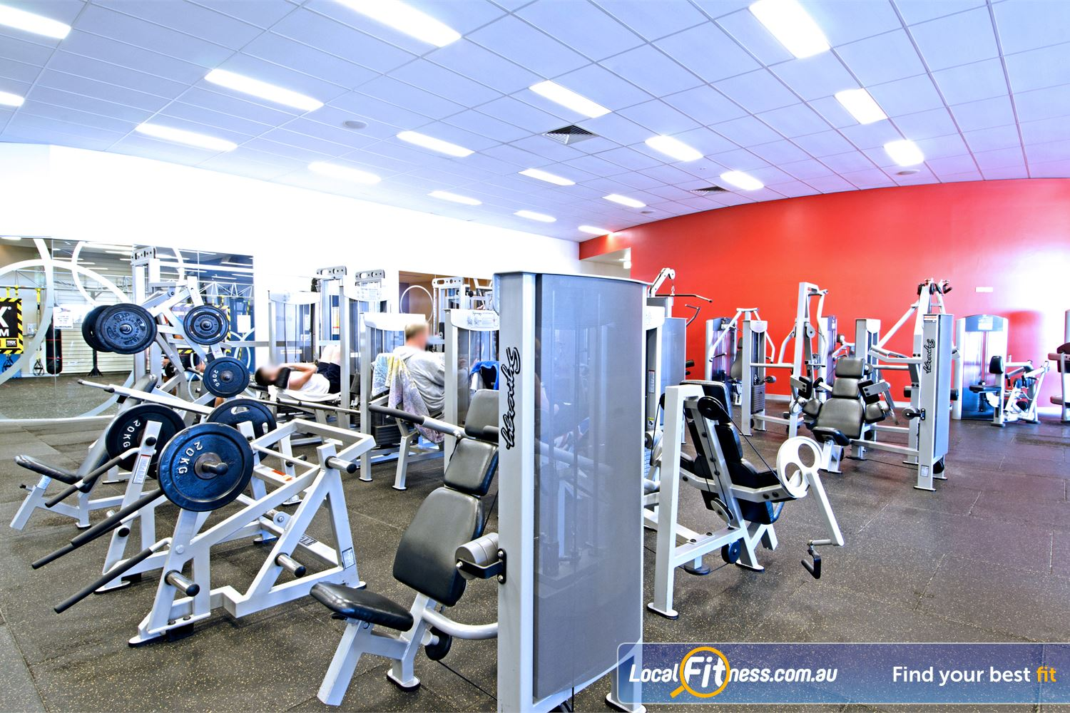 Goodlife Health Clubs Cleveland The Cleveland gym includes an extensive selection of equipment from Calgym and Life Fitness.