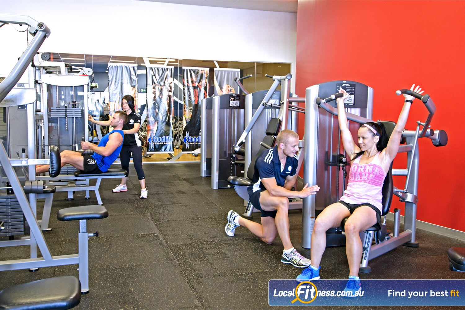 Goodlife Health Clubs Cleveland Cleveland gym instructors specialise in weight-loss and women's programs.