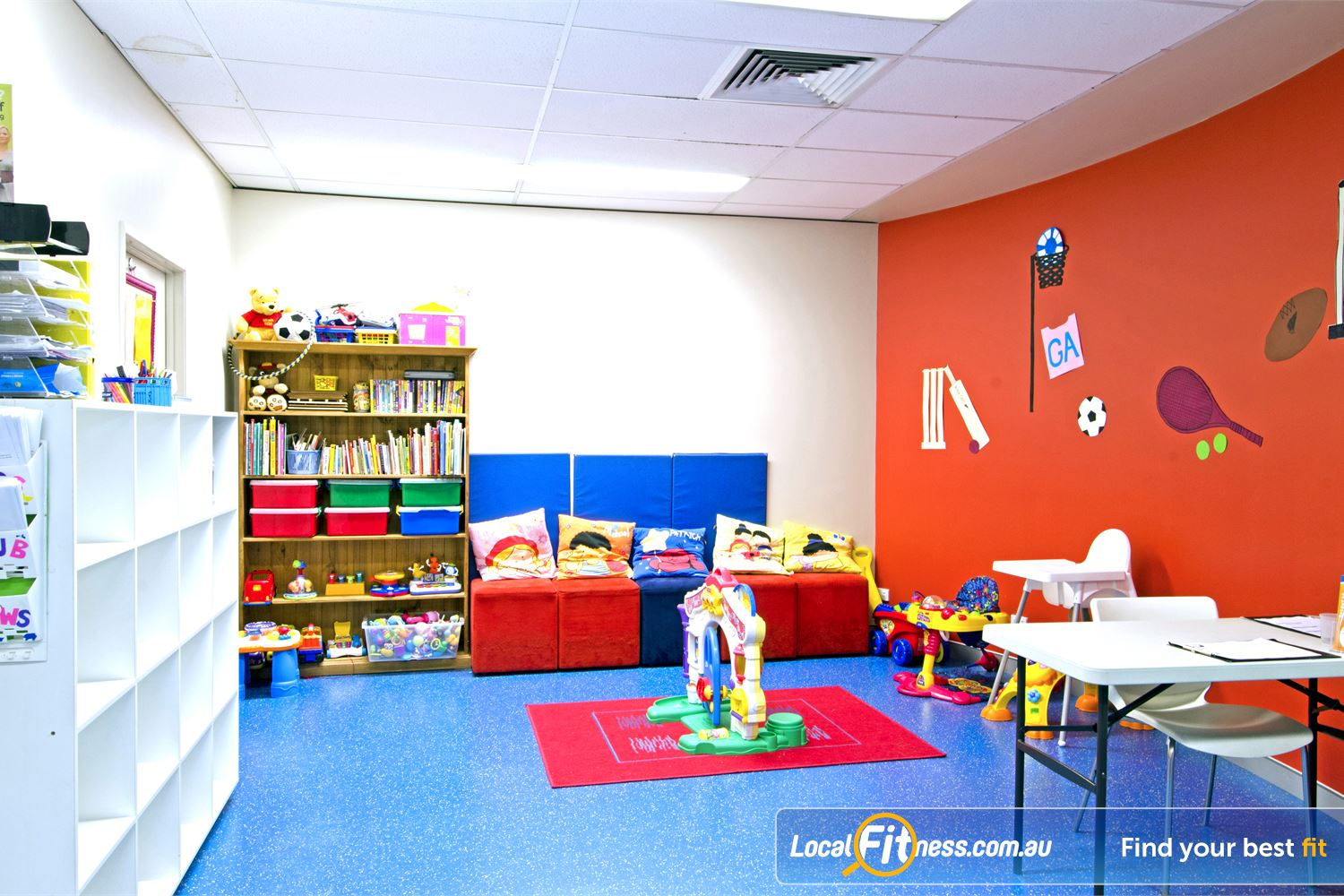 Goodlife Health Clubs Cleveland Convenient child-minding to support our valued family members and guests.