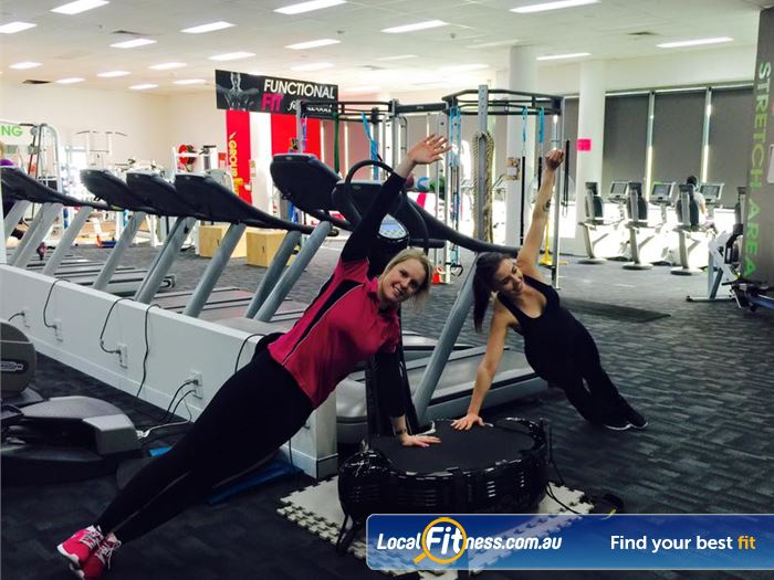 Fernwood Fitness Gym Caringbah  | State of the art equipment including Power Plate.