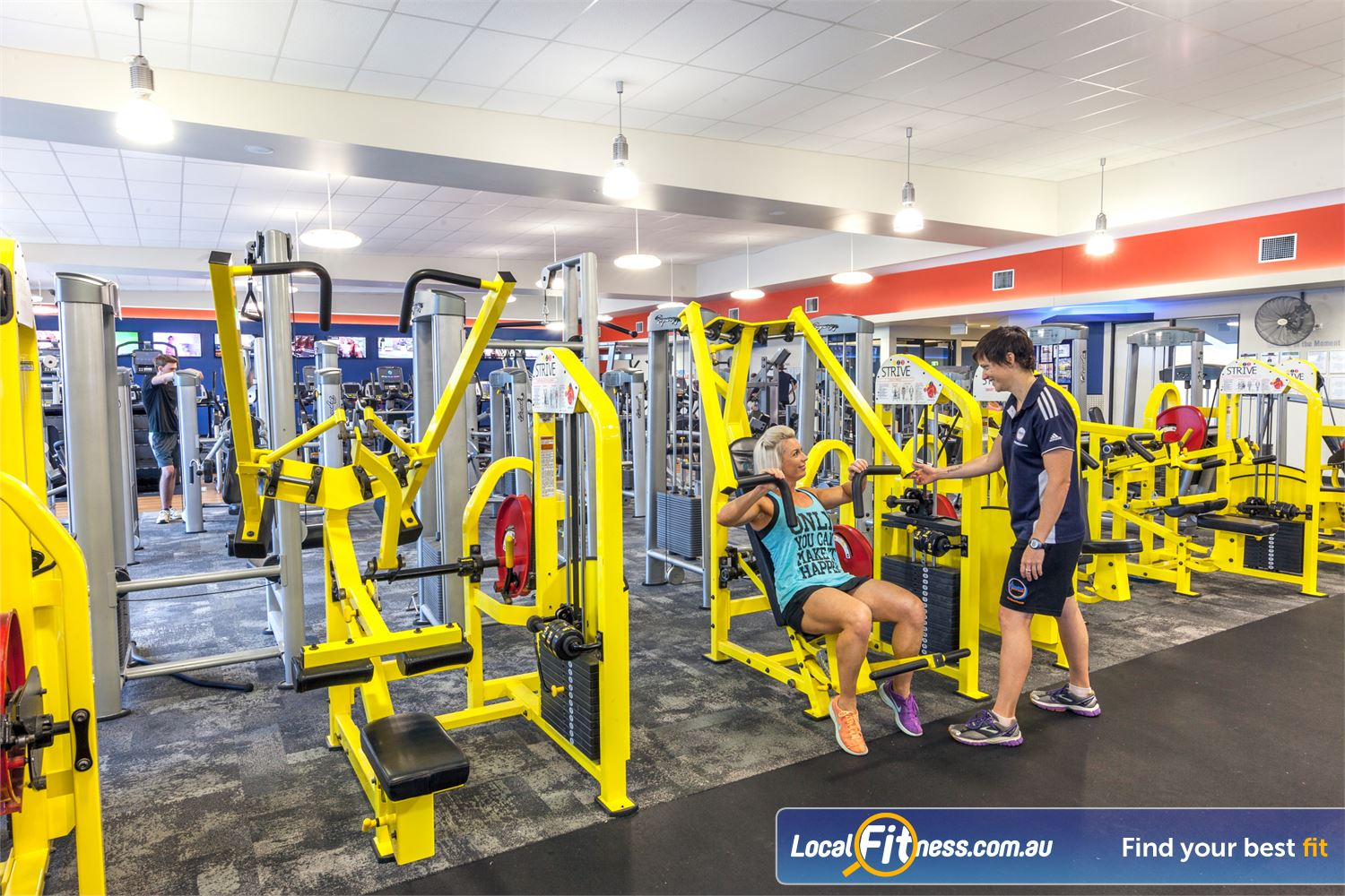 Goodlife Health Clubs Caloundra Our Caloundra gym includes the innovative and state of the art equipment.