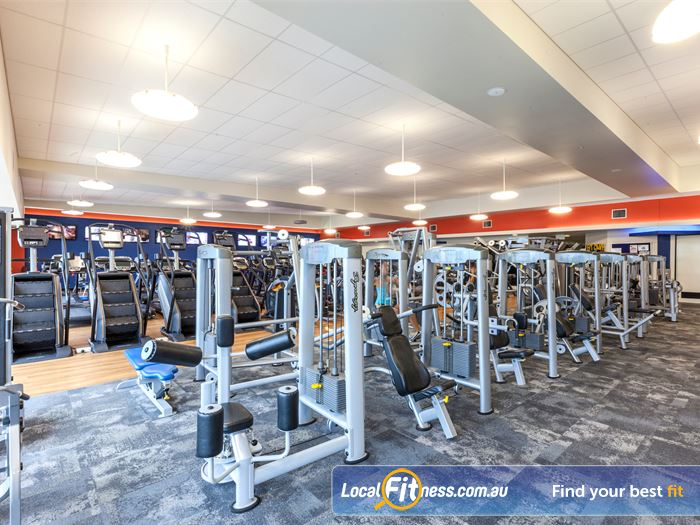Goodlife Health Clubs Gym Sippy Downs  | Goodlife Caloundra gym includes easy to use pin-loading