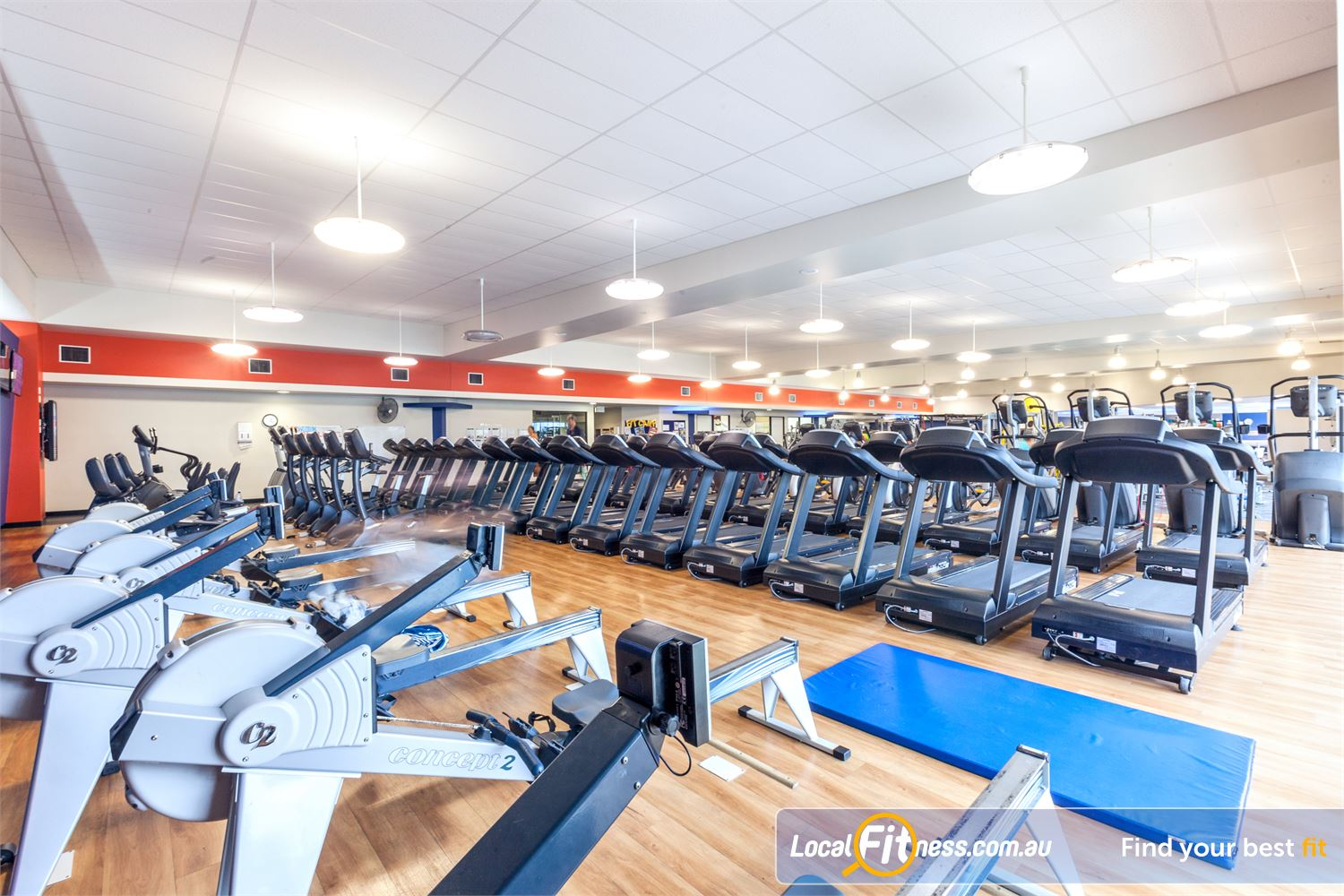 Goodlife Health Clubs Caloundra The latest cycle bikes, cross trainers, treadmills and rowers.
