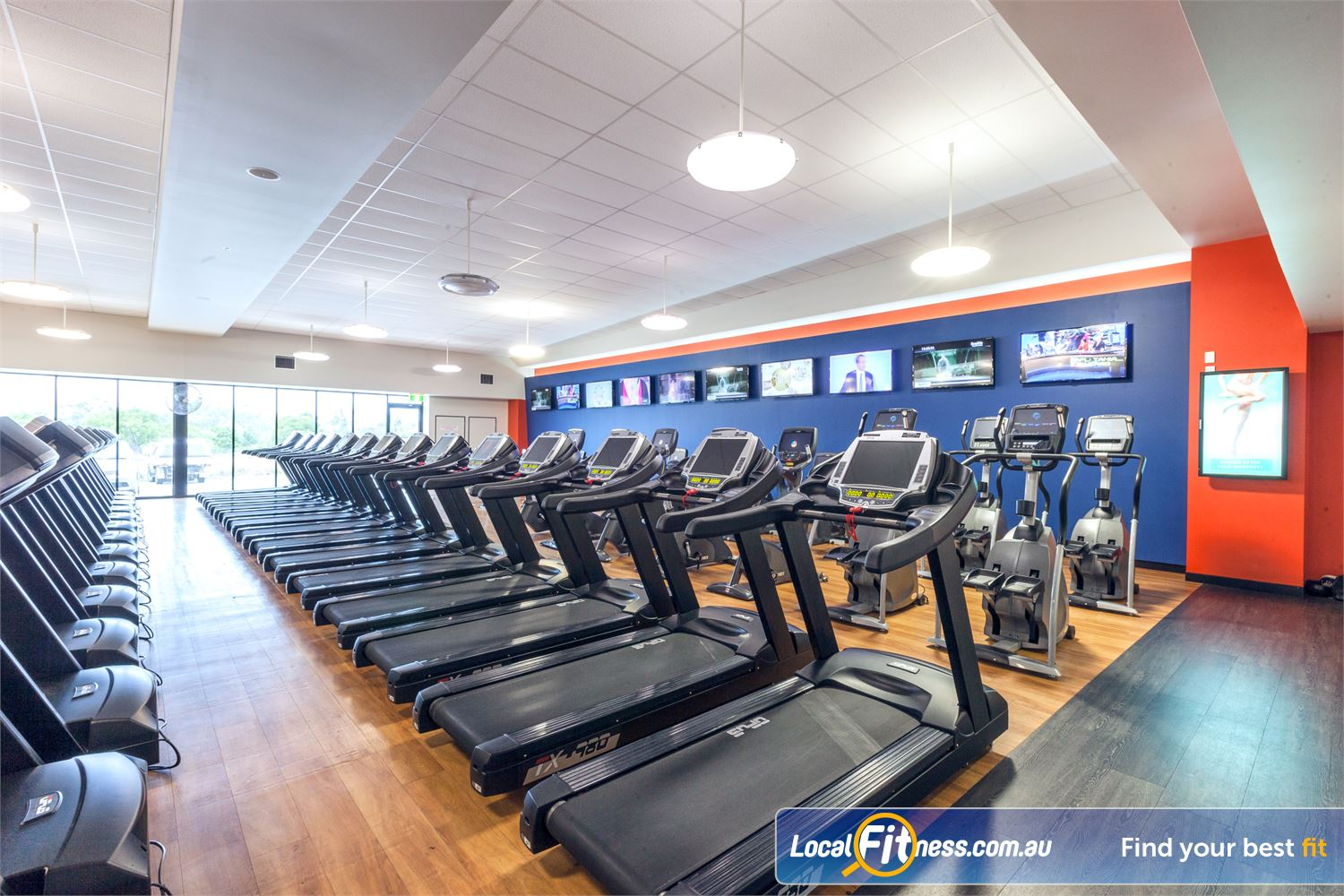 Goodlife Health Clubs Caloundra Tune into your favorite shows in our Caloundra cardio theatre.