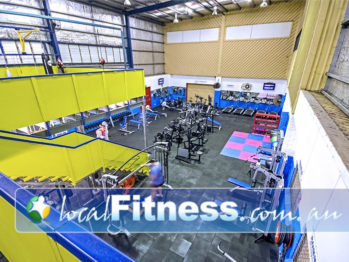 PCYC Gym Carseldine  | Welcome to our multi-level Bray Park gym.
