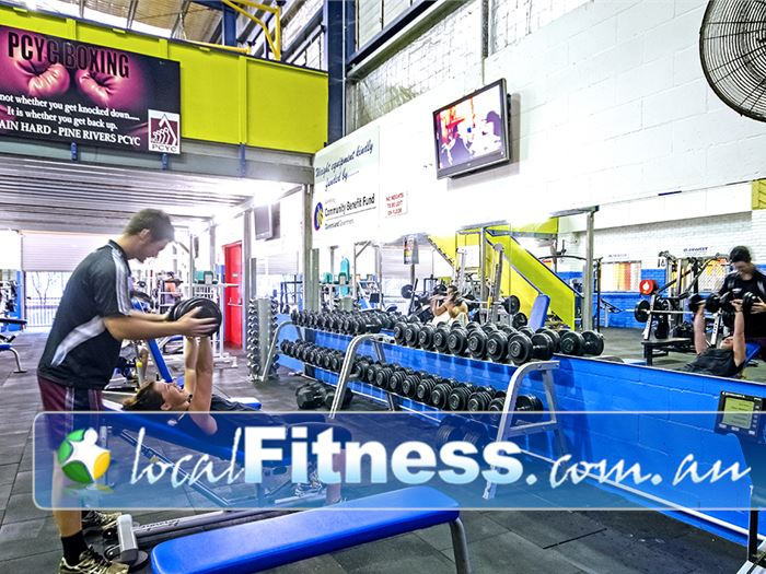PCYC Gym Zillmere  | The Bray Park gym team can tailor a