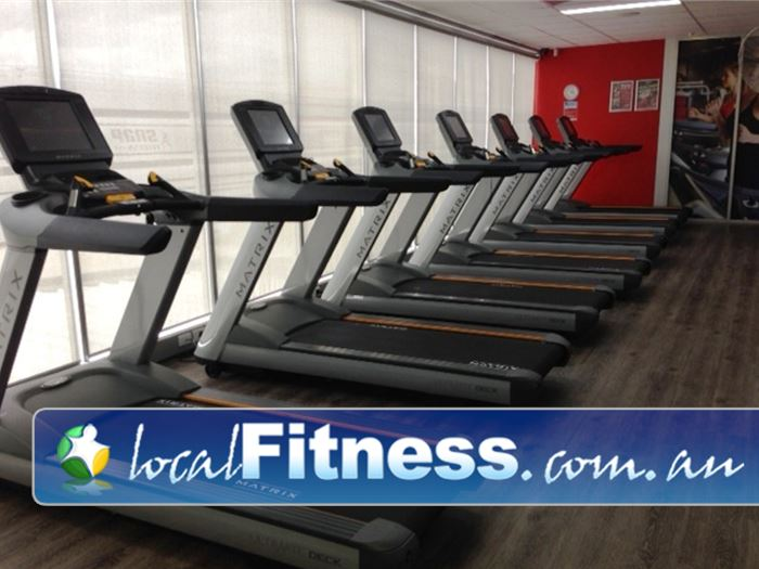Snap Fitness Near Winston Hills Enjoy your favorite shows while you burn calories on the treadmill.