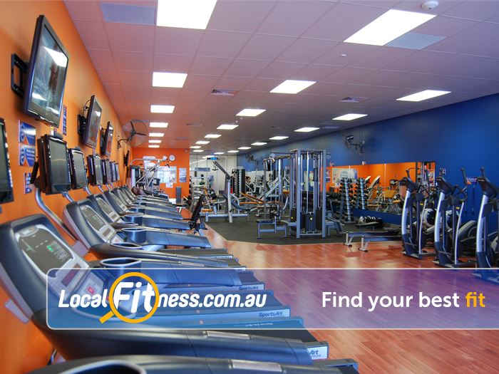 Plus Fitness 24/7 Gym Evanston  | Tune into your favorite shows with our entertainment