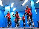 Take an energetic Melbourne spin cycle class.