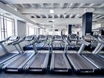 Fitness First Bourke St Melbourne Gym Fitness Rows and rows of treadmills,