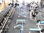 Natural Muscle Airport West Gym GymMore than 3 tonnes of free weights