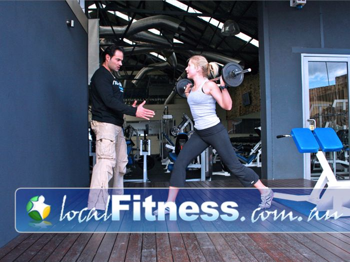 Natural Muscle Gym Brunswick  | Outdoor training in our outdoor courtyard.