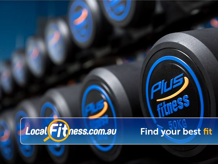 Plus Fitness 24/7 Bayswater Heavy dumbbells to push your training.