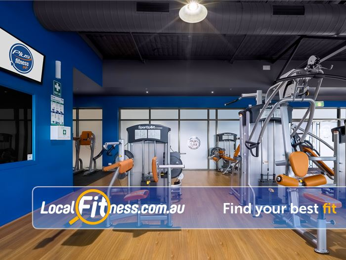 Plus Fitness 24/7 Bayswater Our Bayswater gym includes state of the art equipment from SportsArt Fitness.