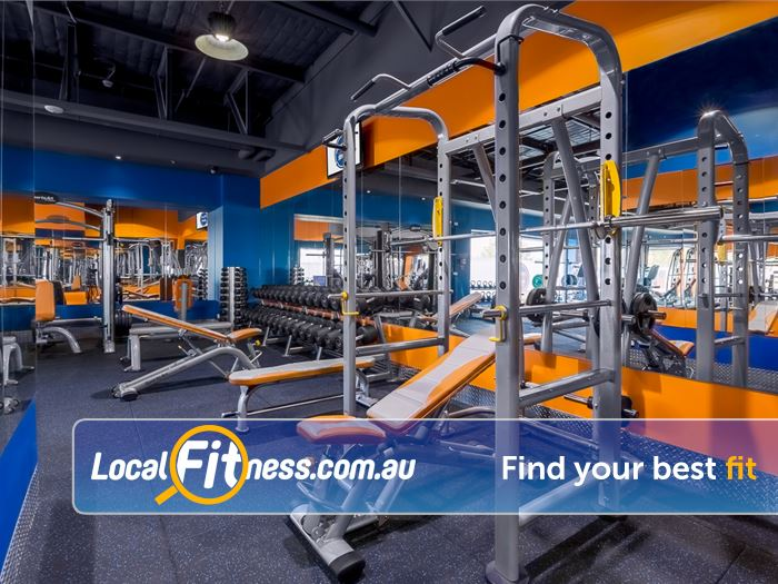 Plus Fitness 24/7 Near Boronia Our 24 hour Bayswater gym provides a comprehensive free-weights area.