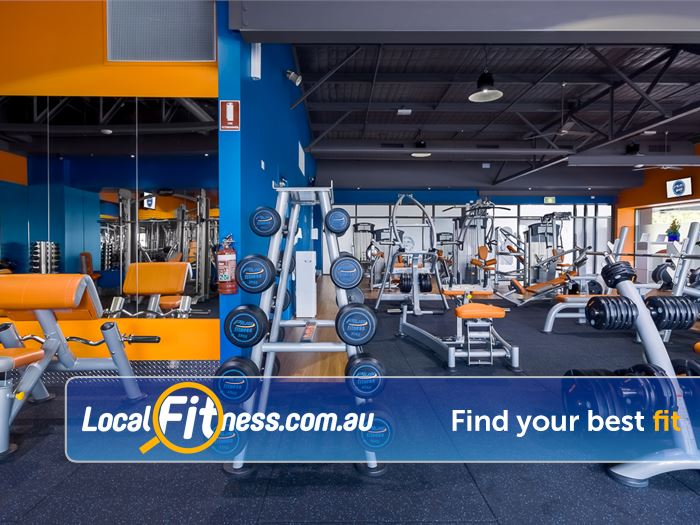 Plus Fitness 24/7 Near Ferntree Gully Dumbbells, barbells, benches and more.