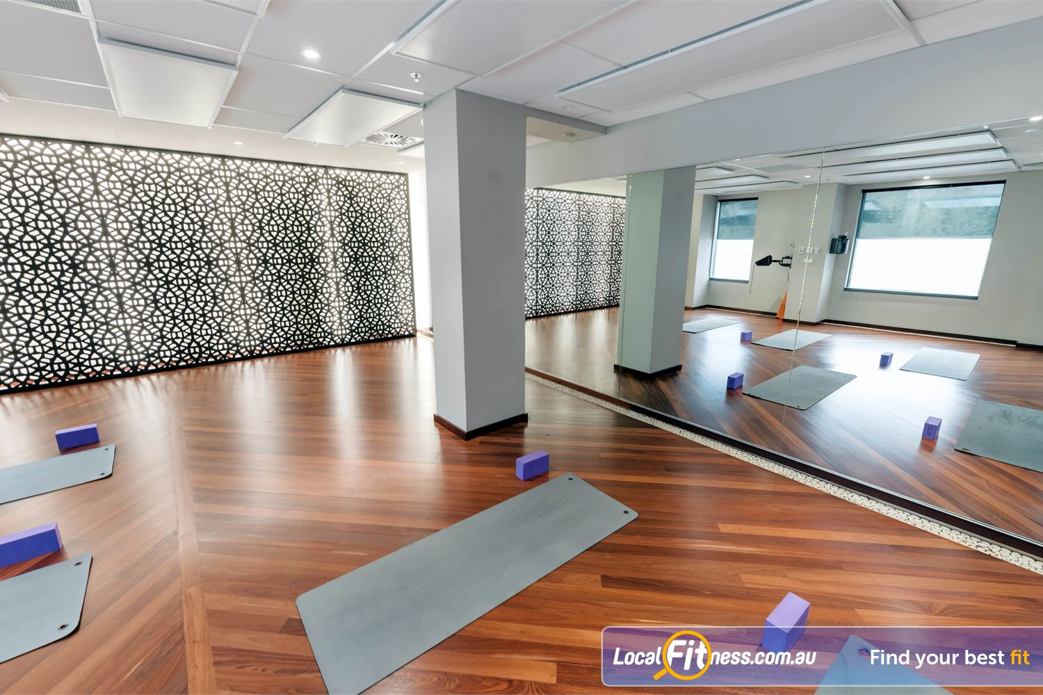 Fitness First Elizabeth Plaza Near Waverton One of our defining features, our dedicated North Sydney HOT Yoga studio.