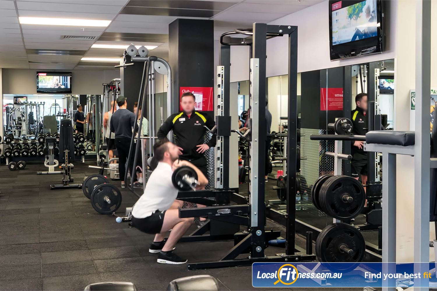 Fitness First Elizabeth Plaza North Sydney Our Sydney gym team can help you improve your squat form.