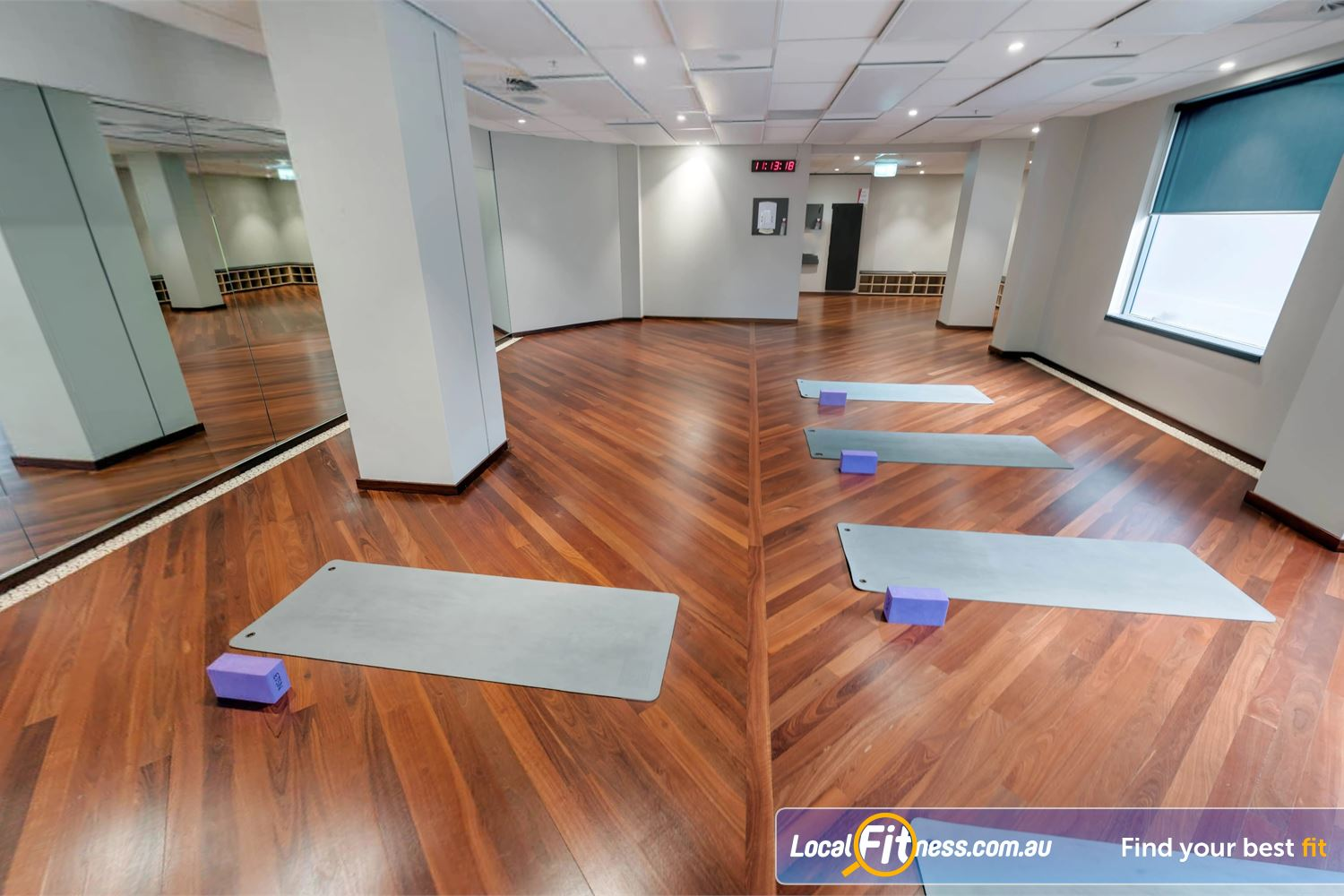 Fitness First Elizabeth Plaza North Sydney Mind body classes inc. Yoga and North Sydney Pilates and more.