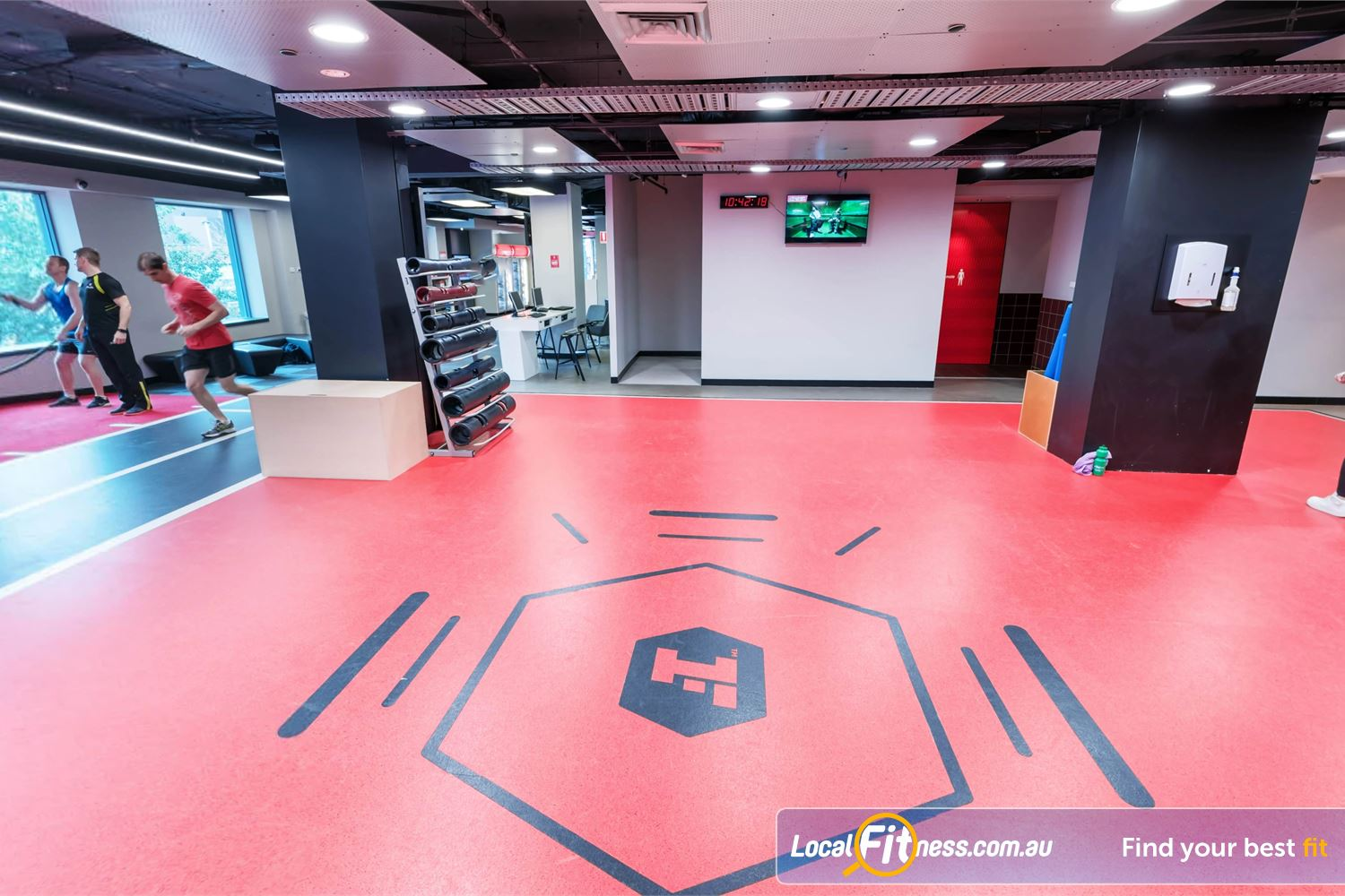 Fitness First Elizabeth Plaza Near Kirribilli Our North Sydney HIIT gym is a great place for strength and conditioning.