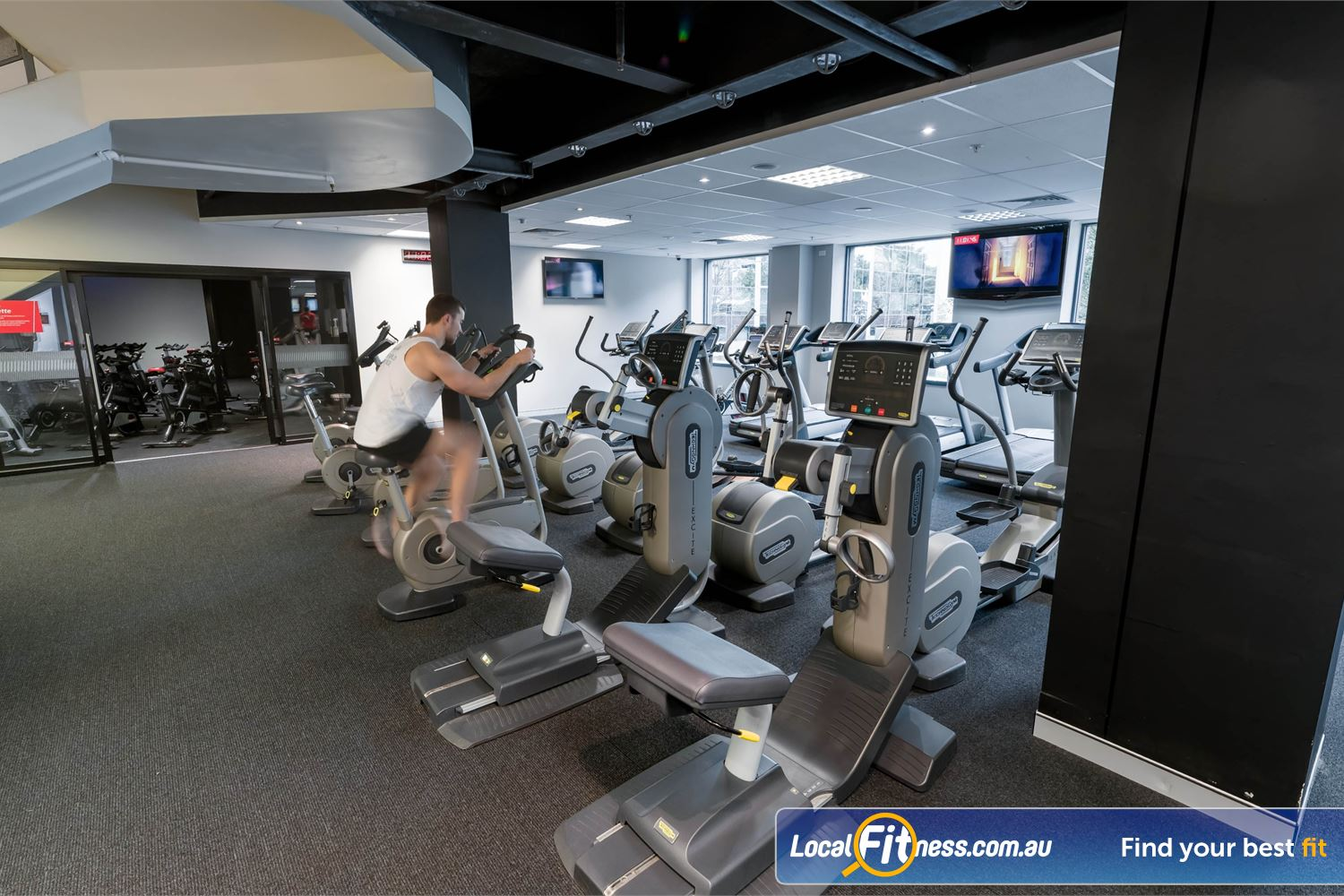 Fitness First Elizabeth Plaza North Sydney Our cardio area includes treadmills, cross trainers, cycle bikes and more.