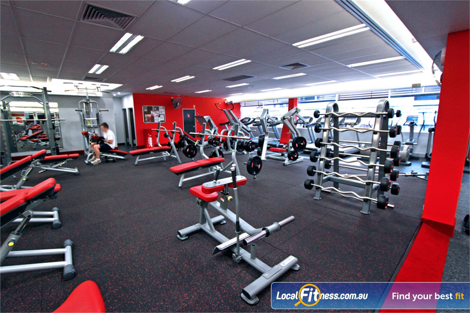 Snap Fitness Jindalee 24 hour Jindalee gym free-weight access.