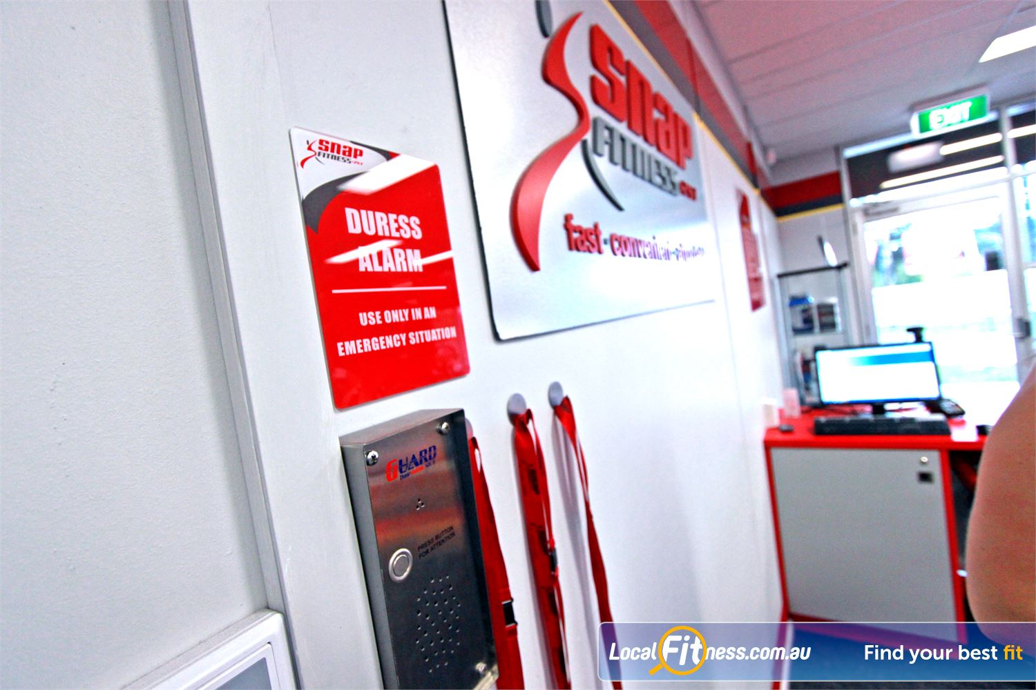 Snap Fitness Jindalee 24 hour safety and security makes your workout hassle free.