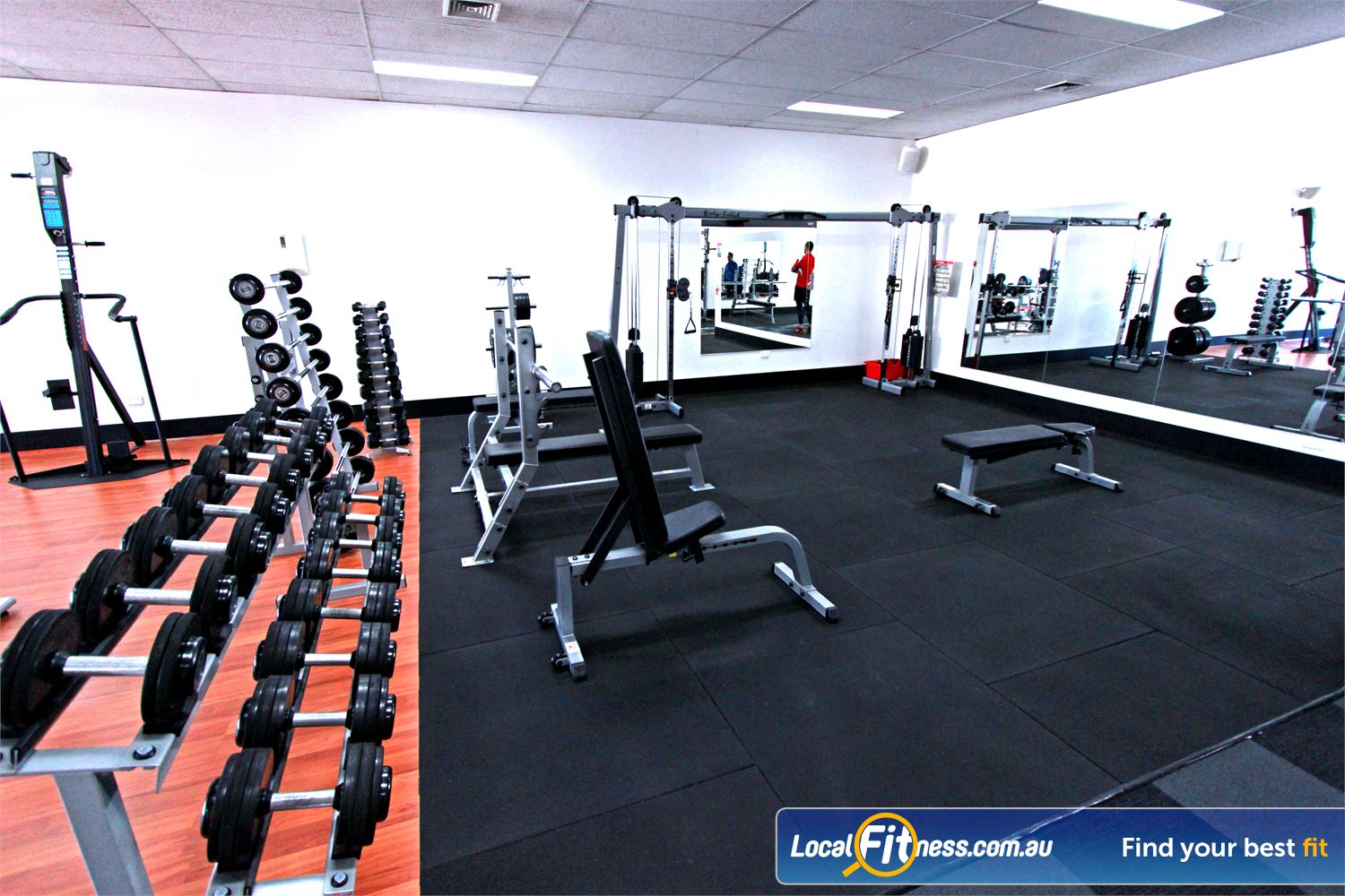 Carlton Fitness Gym Carlton North Our Carlton gym is fully equipped for strength.