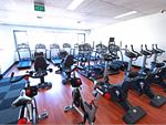 The fully equipped Carlton cardio area.