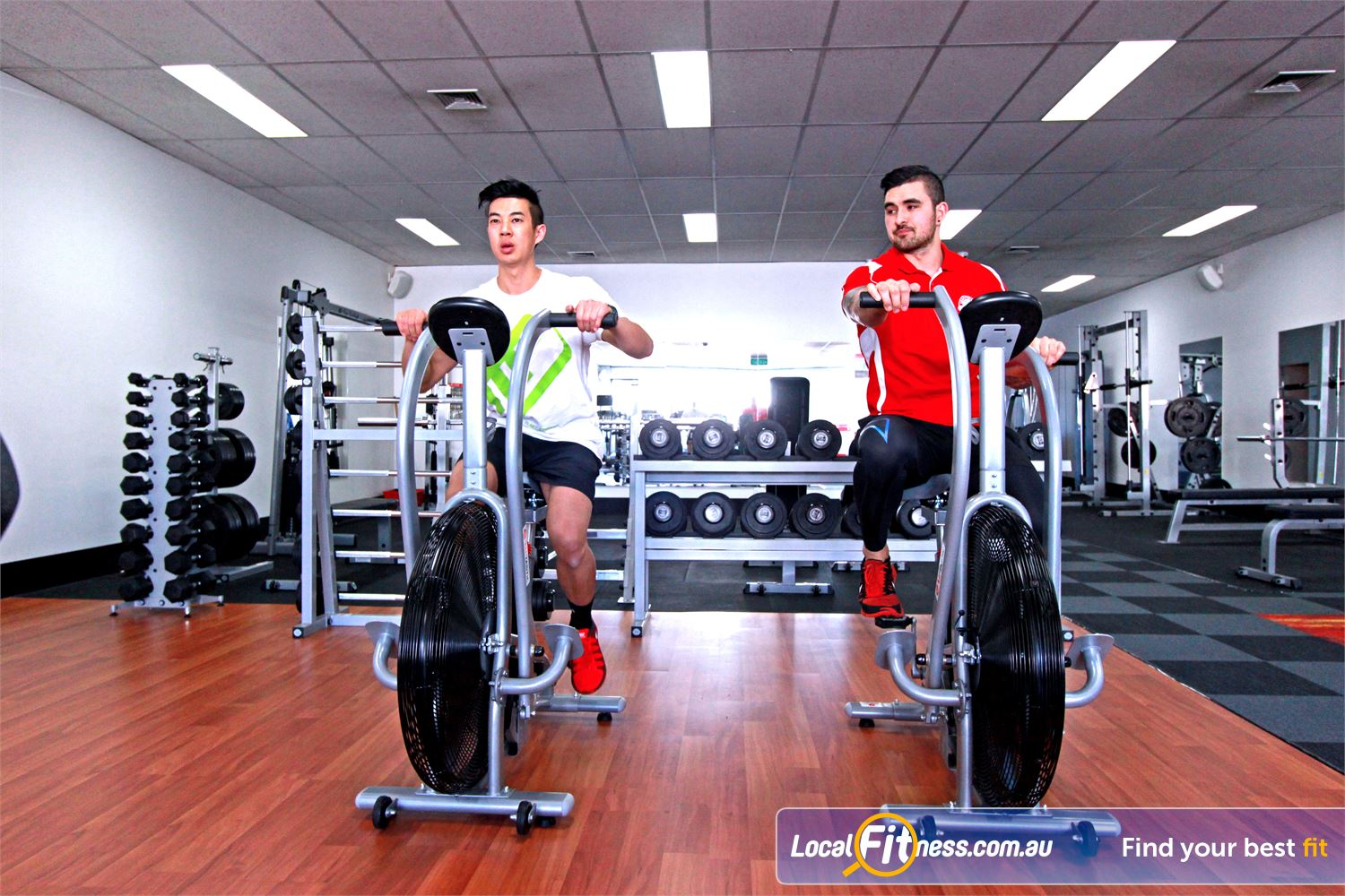 Carlton Fitness Gym Carlton North Airdyne bikes only at Lean For Life Carlton North gym.
