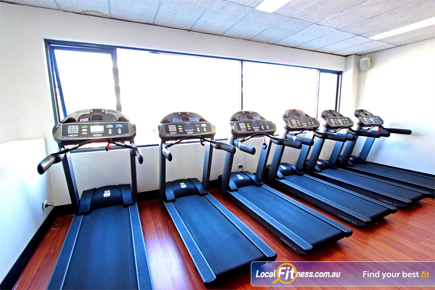 Carlton Fitness Gym Near Princes Hill Enjoy scenic views from our second floor cardio area.