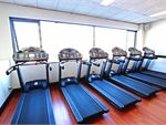 Enjoy scenic views from our second floor cardio
