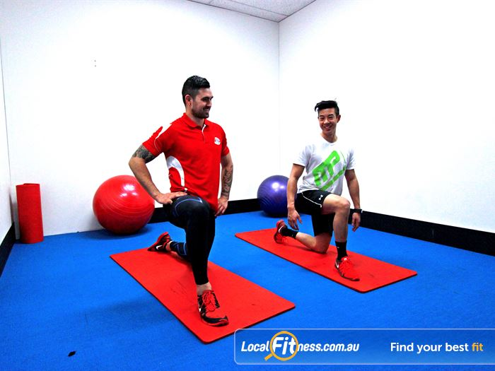 Carlton Fitness Gym Brunswick Gym Fitness Dedicated abs and stretching
