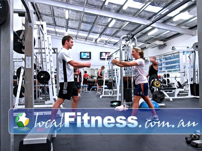 PCYC Gym Robina  | Nerang gym instructors can tailor a strength program