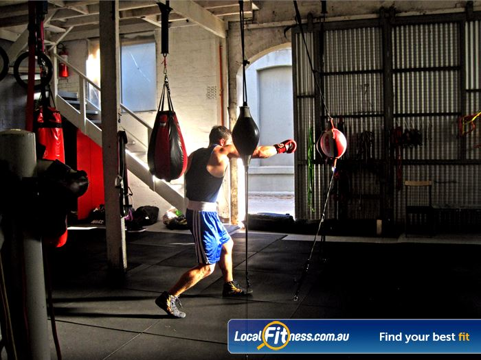 Mischa's Boxing Central Gym Docklands  | Fully equipped Footscray boxing gym with heavy bags,