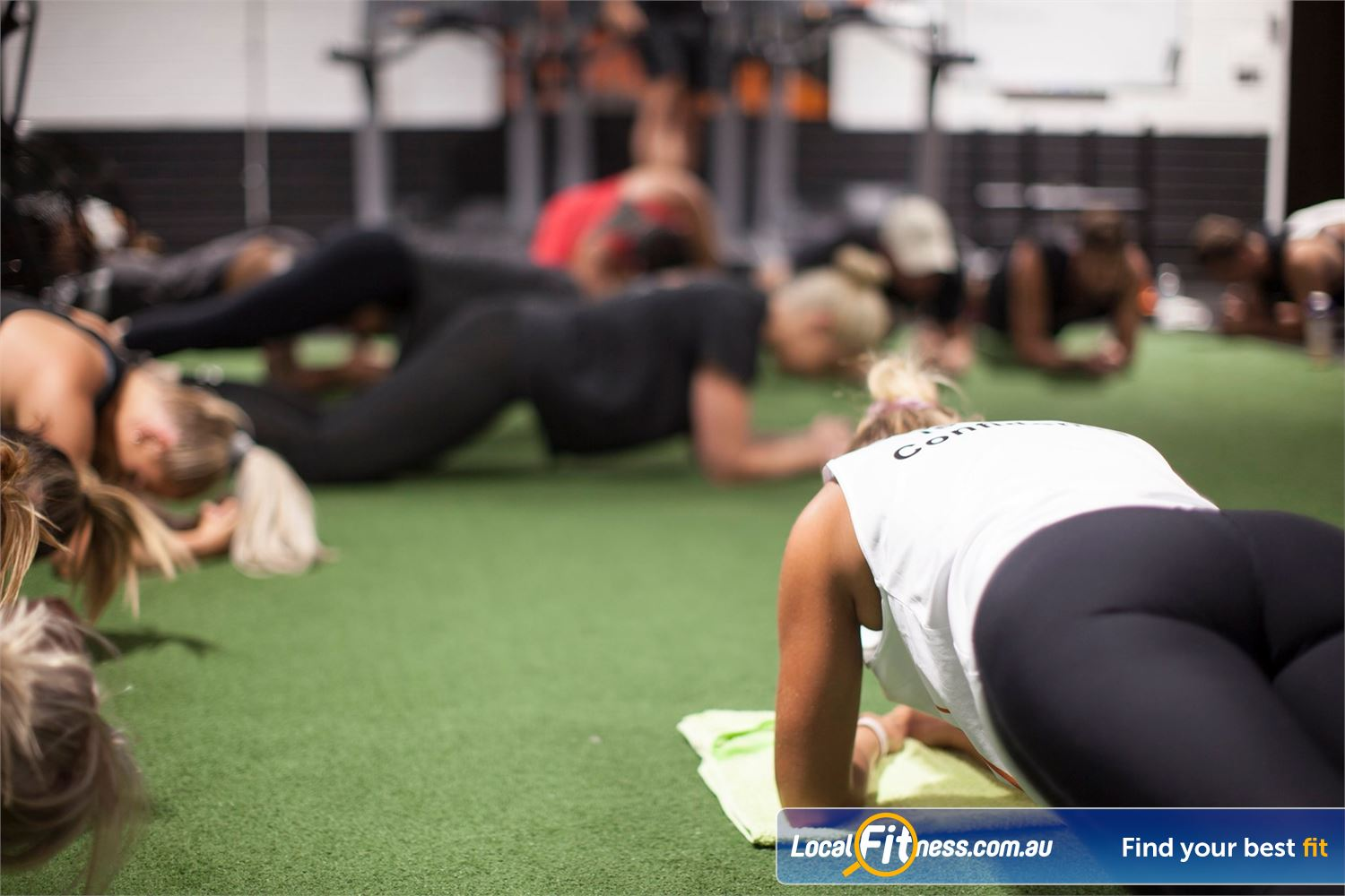 The Body Factory Near Dolans Bay Sweat it out and burn body fat with our Caringbah HIIT gym classes.
