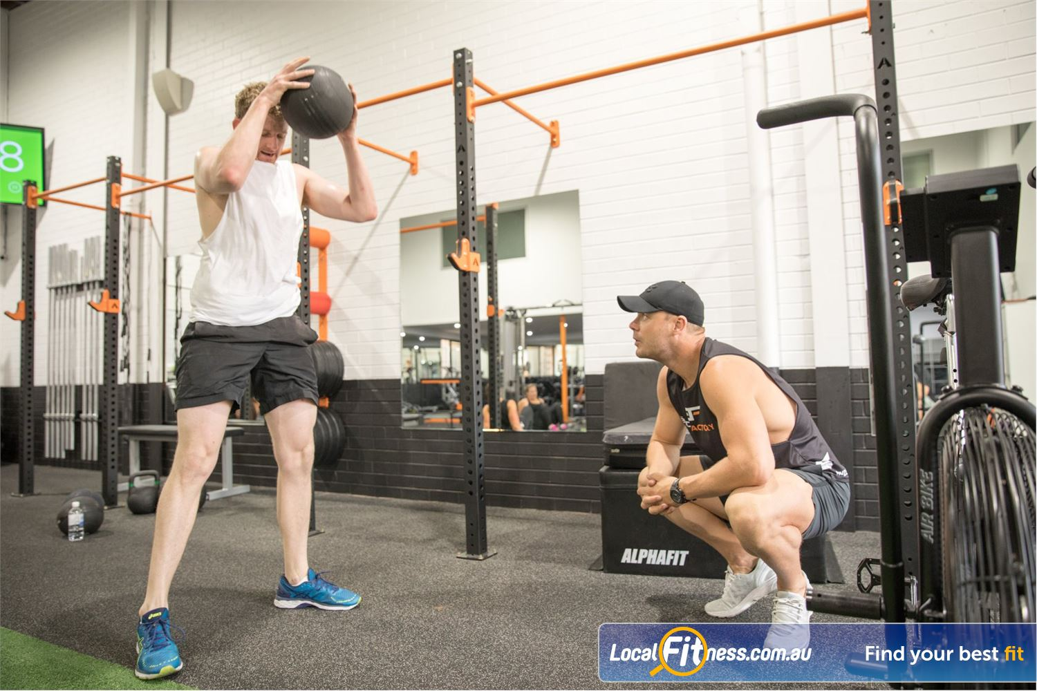 The Body Factory Caringbah Your Caringbah personal training is your dedicated coach.