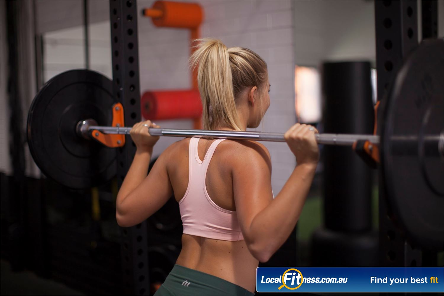 The Body Factory Near Port Hacking High-performance strength cages perfect forwomen strength training.