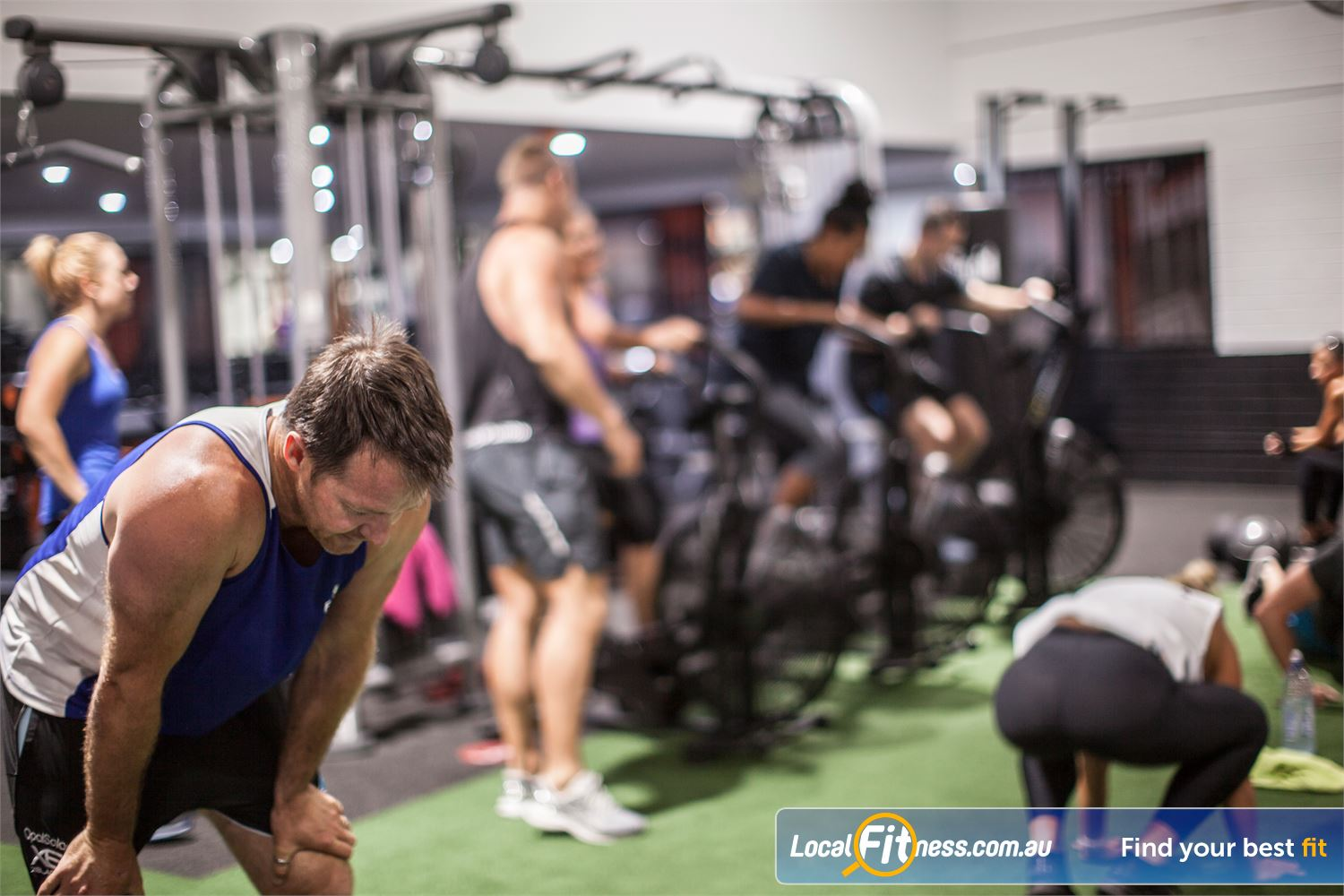 The Body Factory Near Dolans Bay Our Caringbah HIIT gym runs our range of innovative functional group classes.