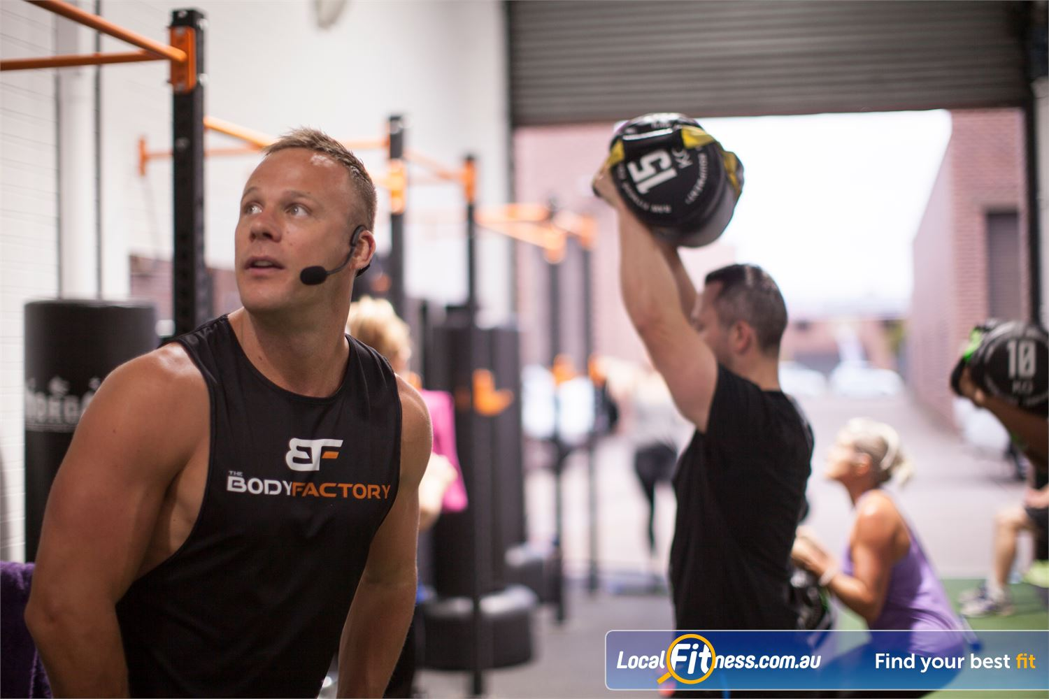 The Body Factory Caringbah Our coaches are there to help you smash your goals.