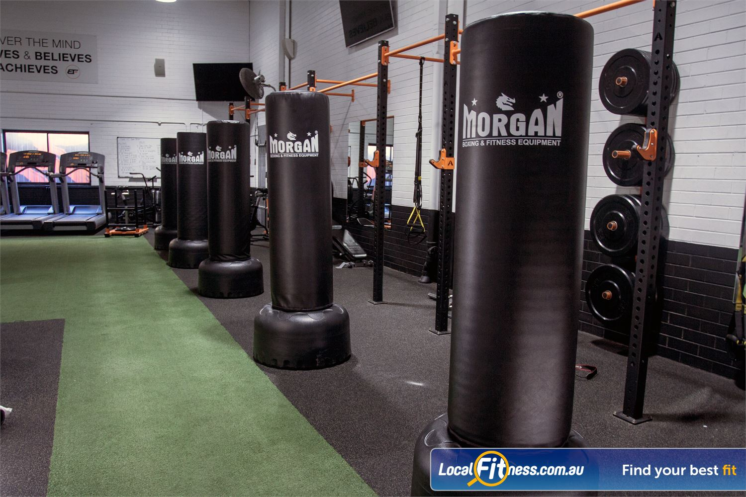 The Body Factory Near Warumbul Our Caringbah gym is fully equipped for HIIT and functional training.